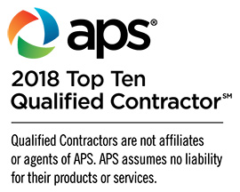 APS 2018 Top Ten Qualified Contractor
