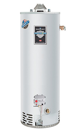 We repair and replace water heaters. A lot of them.